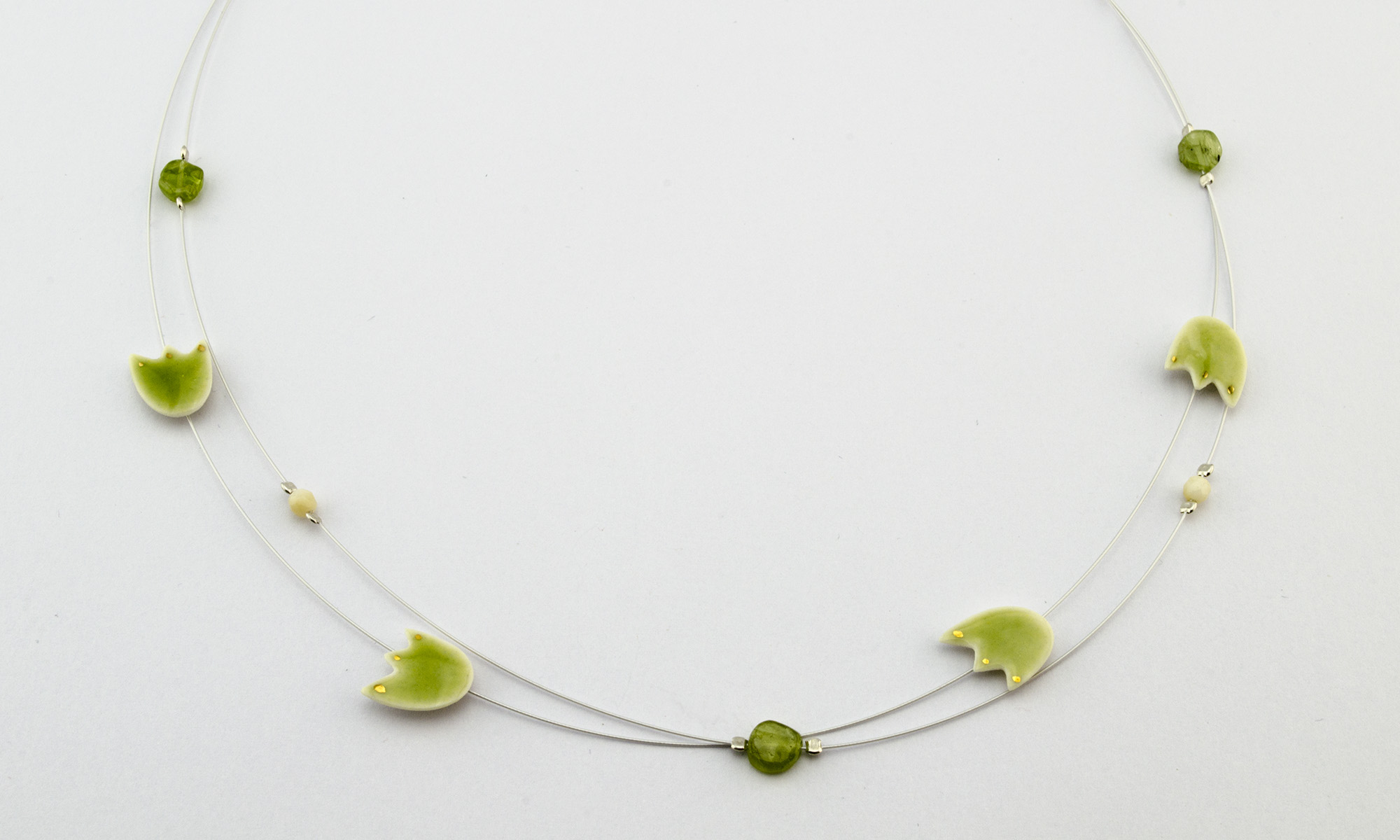 Porzellanschmuck - Maja Wlachopulos - Schmuck aus Porzellan